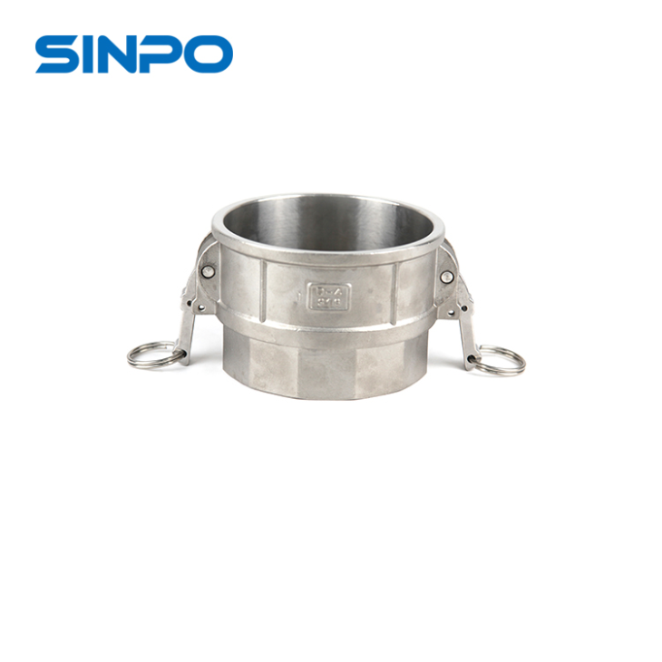 4 Inch DN100 Stainless Steel 316 Quick Connect Fluid Coupling TYPE D